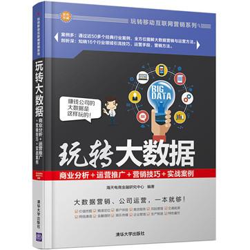 玩转大数据:商业分析+运营推广+营销技巧+实战案例
